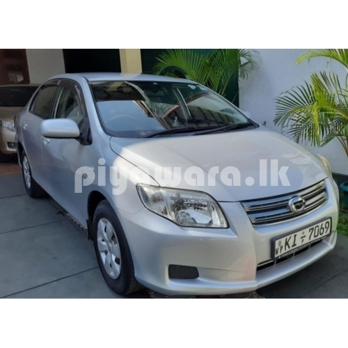 Toyota axio for sale at kasbawa