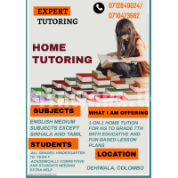 English Medium Subjects 1-on-1 Home Tuitions